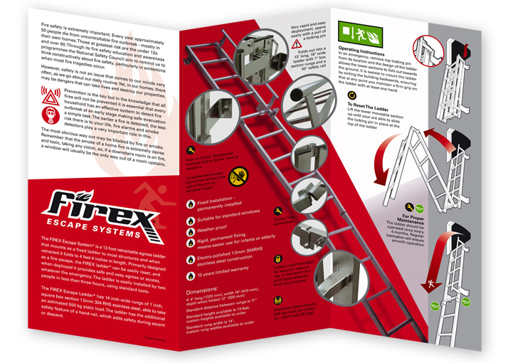 Firex brochure design inside